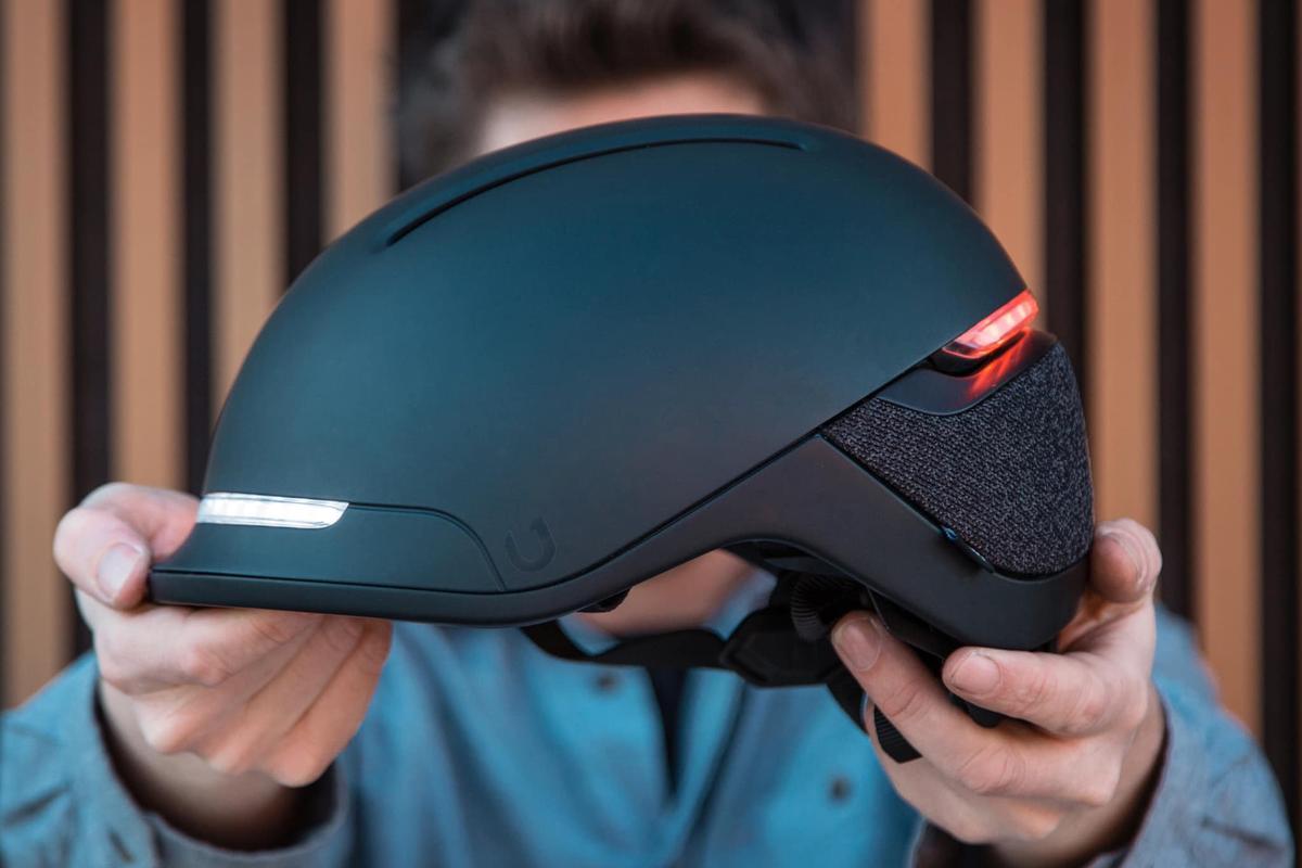 The Faro bike helmet is presently on Kickstarter