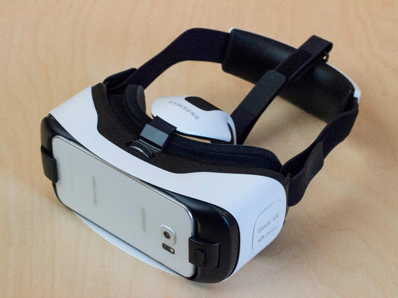 The Samsung Gear VR for GS6, which relies on a Galaxy S6 or Galaxy S6 edge