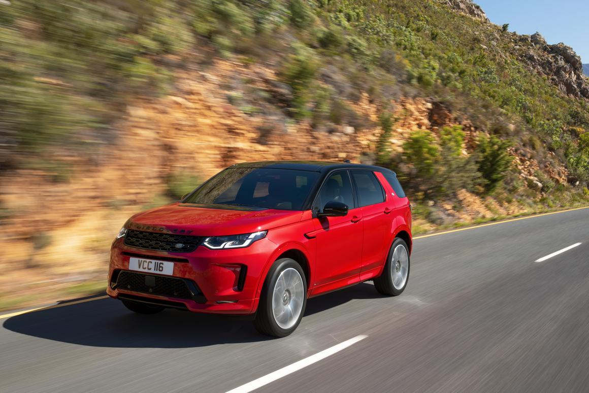 The Discovery Sport is a more compact sport utility fitting underneath the larger Discovery model