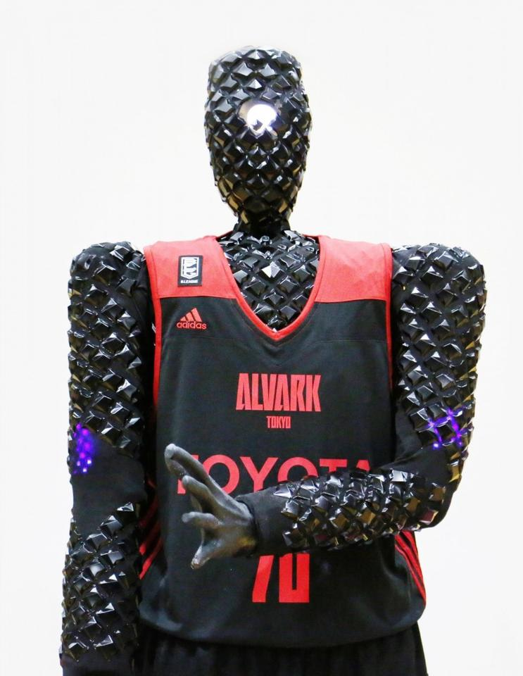Alvark Tokyo has more or less adopted CUE, assigning it a number 70 jersey and the position of shooting guard