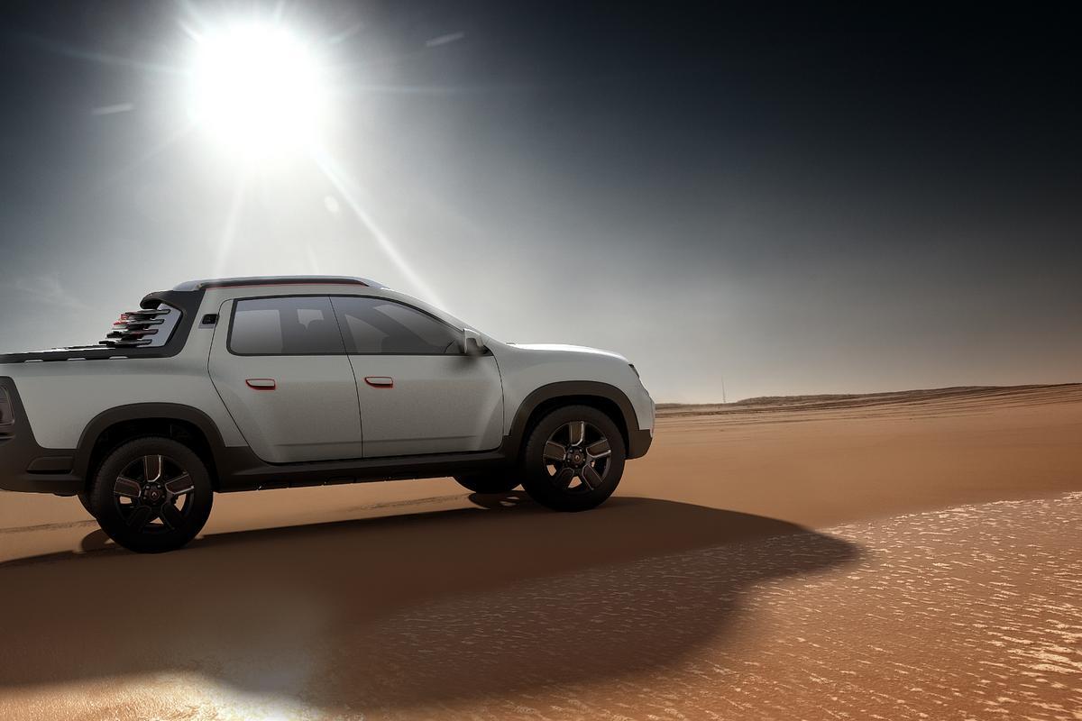 Dacia's Duster goes pickup for São Paulo