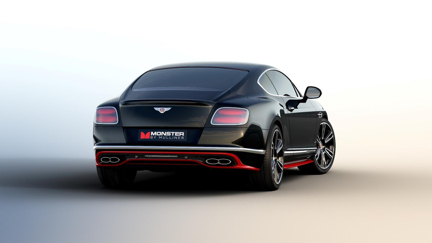 "The Bentley Continental GT V8 S becomes the ""Monster by Mulliner"""