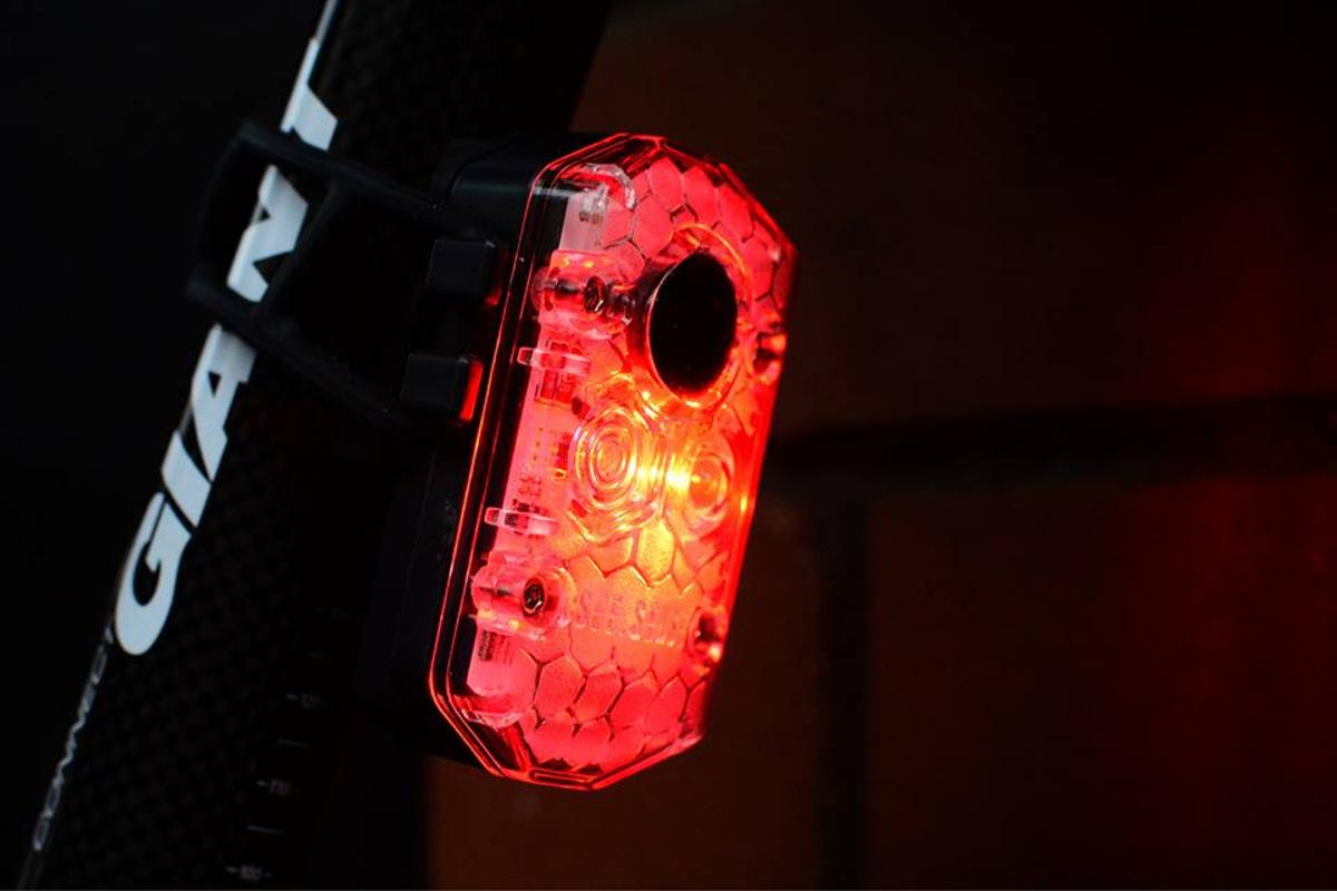 See.Sense Icon lights respond to the motion of the bike and to ambient light, plus they can be controlled using a paired smartphone