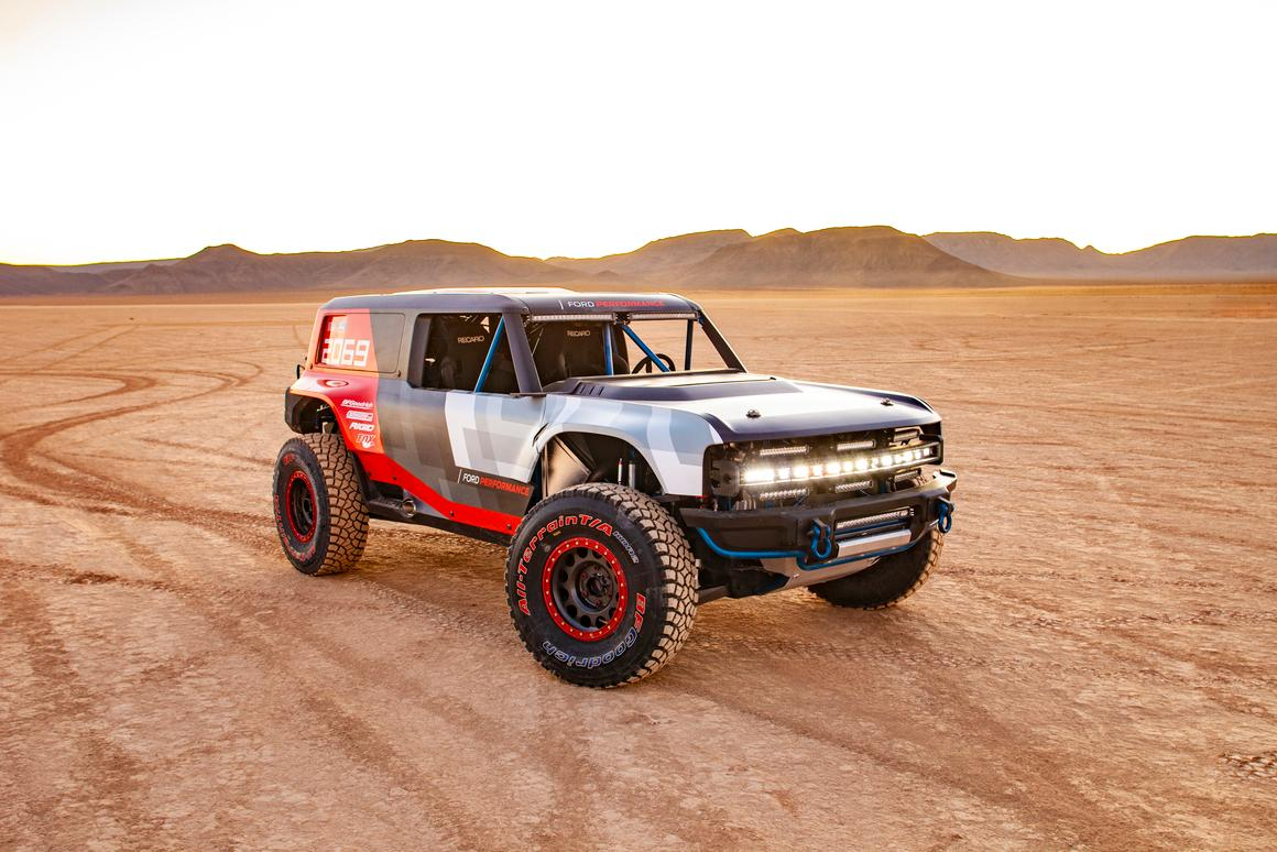 We'll still have to wait a few months for the production Bronco, but the Bronco R gives us some nice details of what to expect