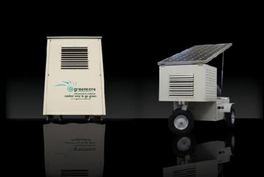 Greencores 10200 solar airconditioner