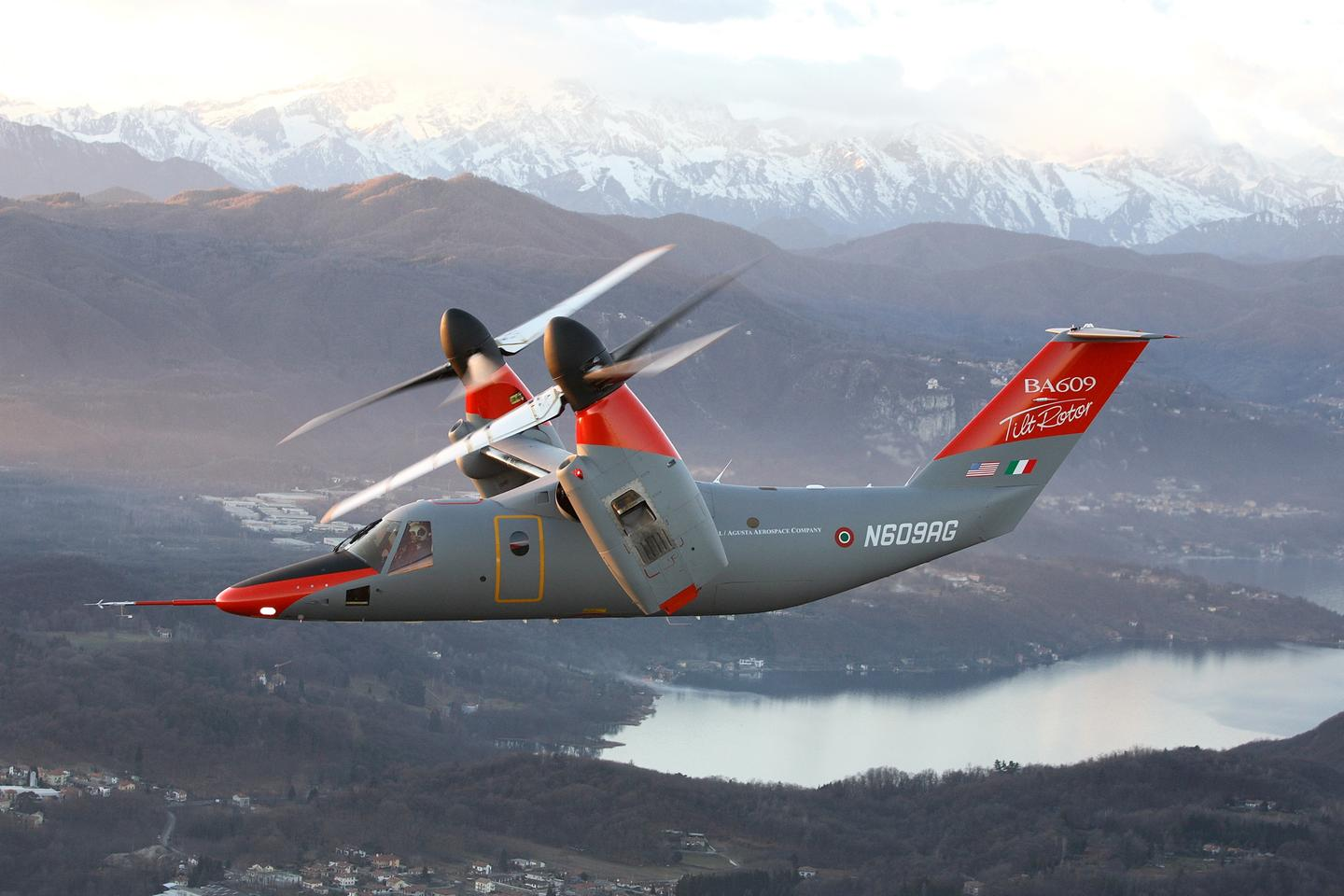 The AgustaWestland AW609 tiltrotor aircraft is aiming for FAA certification in 2016