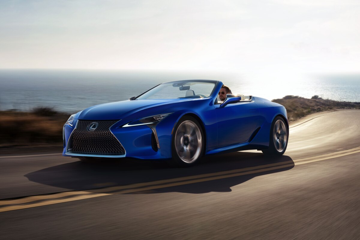 The LC 500 Convertible has lost nothing in the transition from the concept car