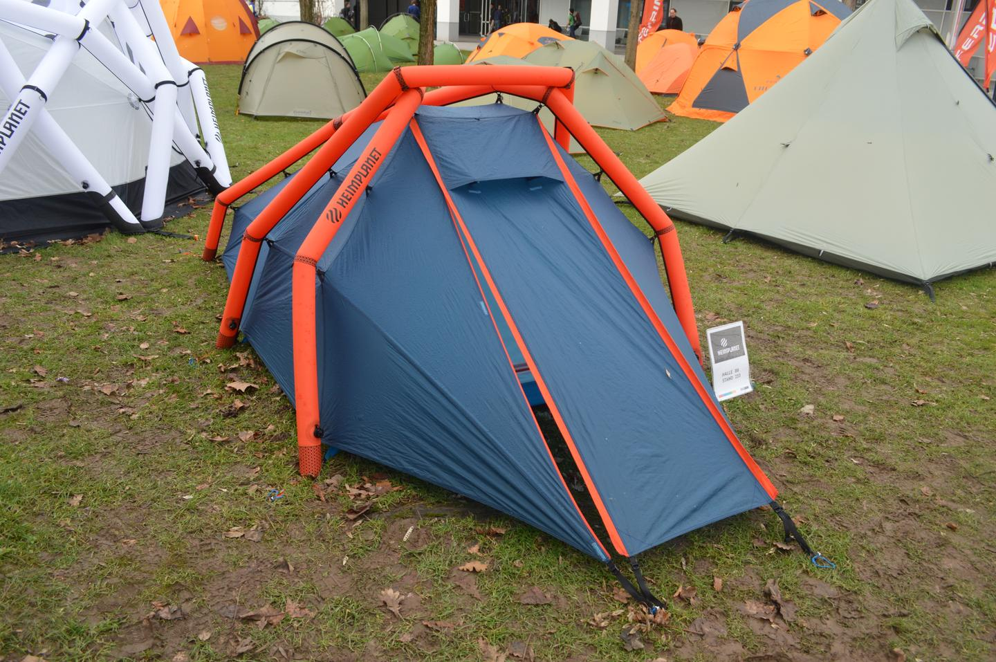 The Wedge is a two-person tent
