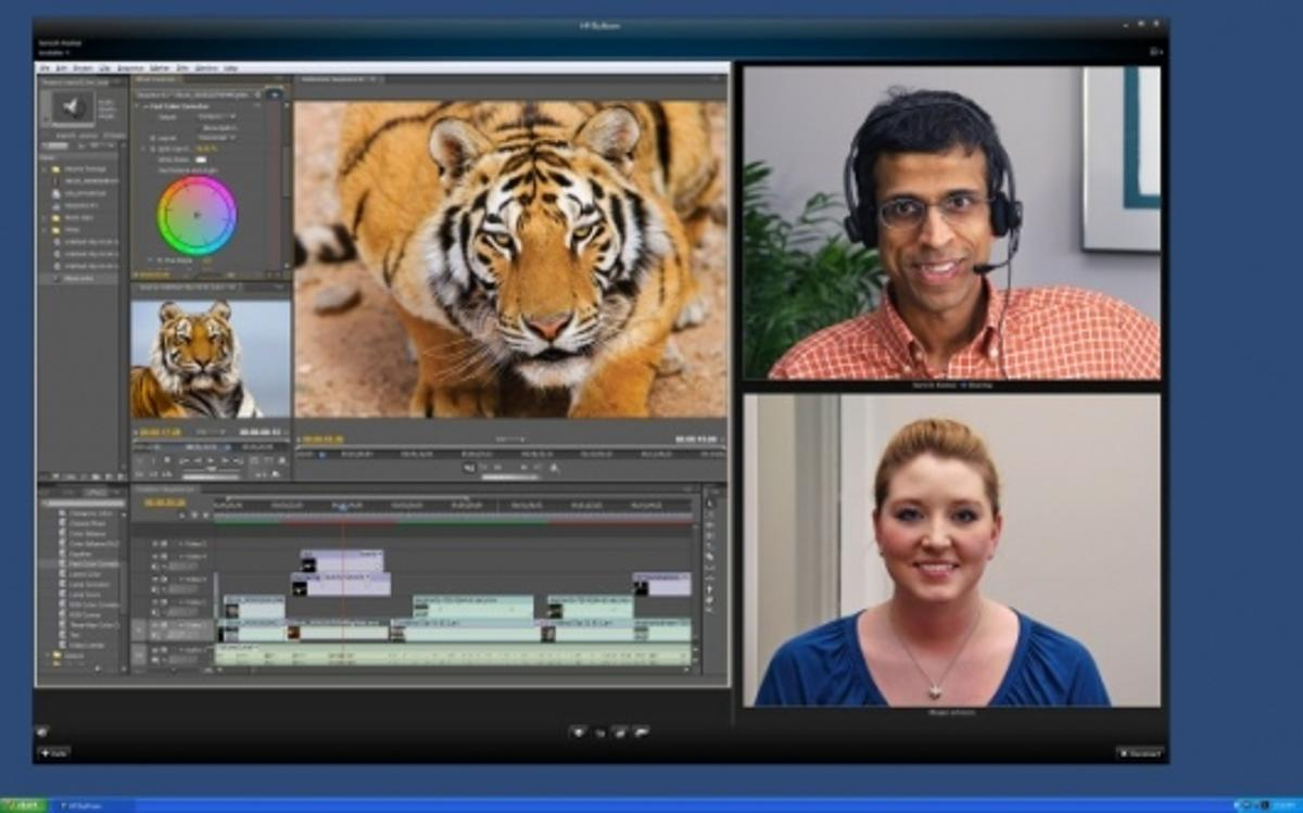 HP SkyRoom videoconferencing allows users to collaborate quickly, easily and at a minimum cost