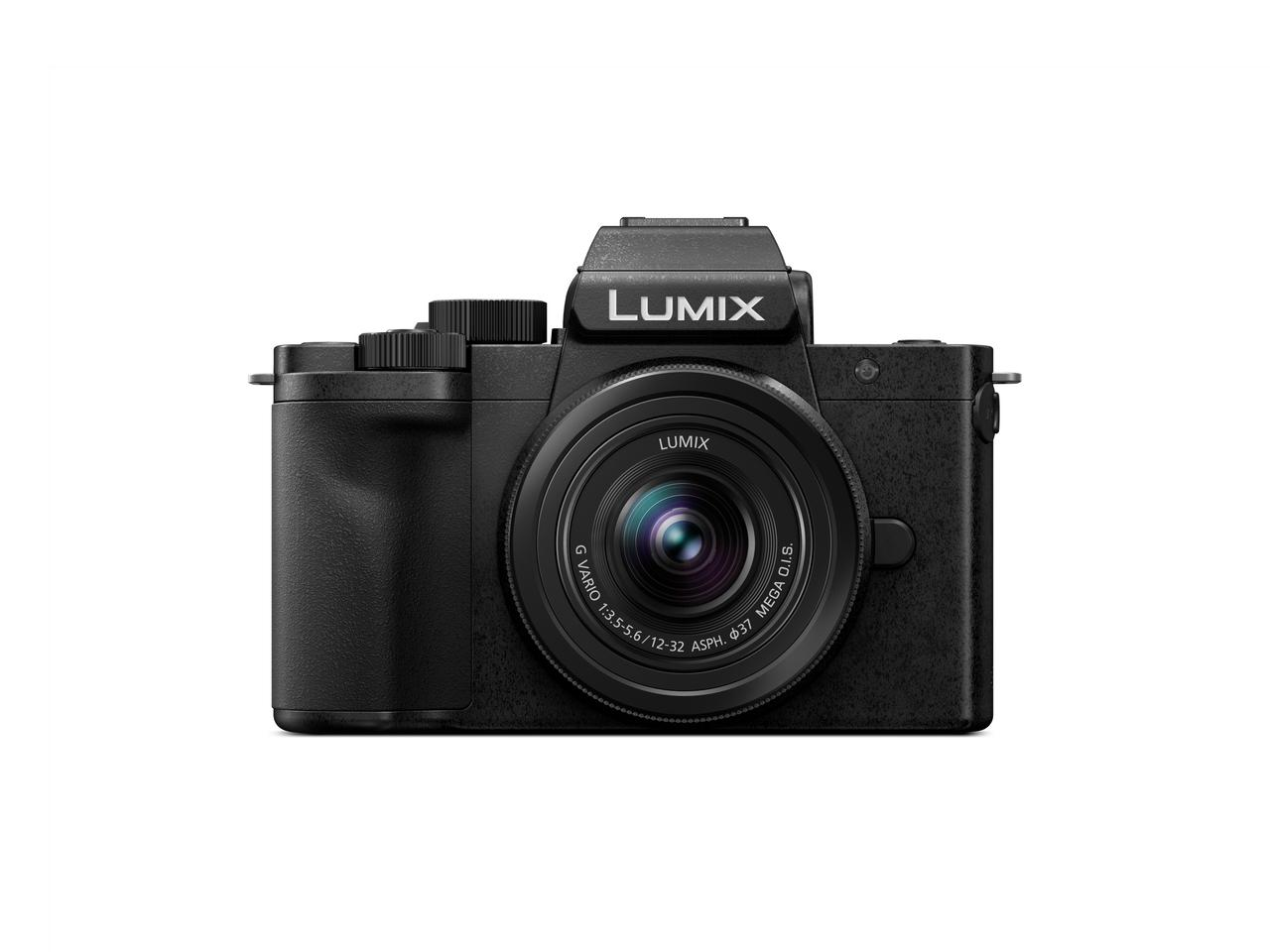 The Lumix G100 measures 4.55 x 3.24 x 2.13 inches and weighs in at a body-only 12 oz