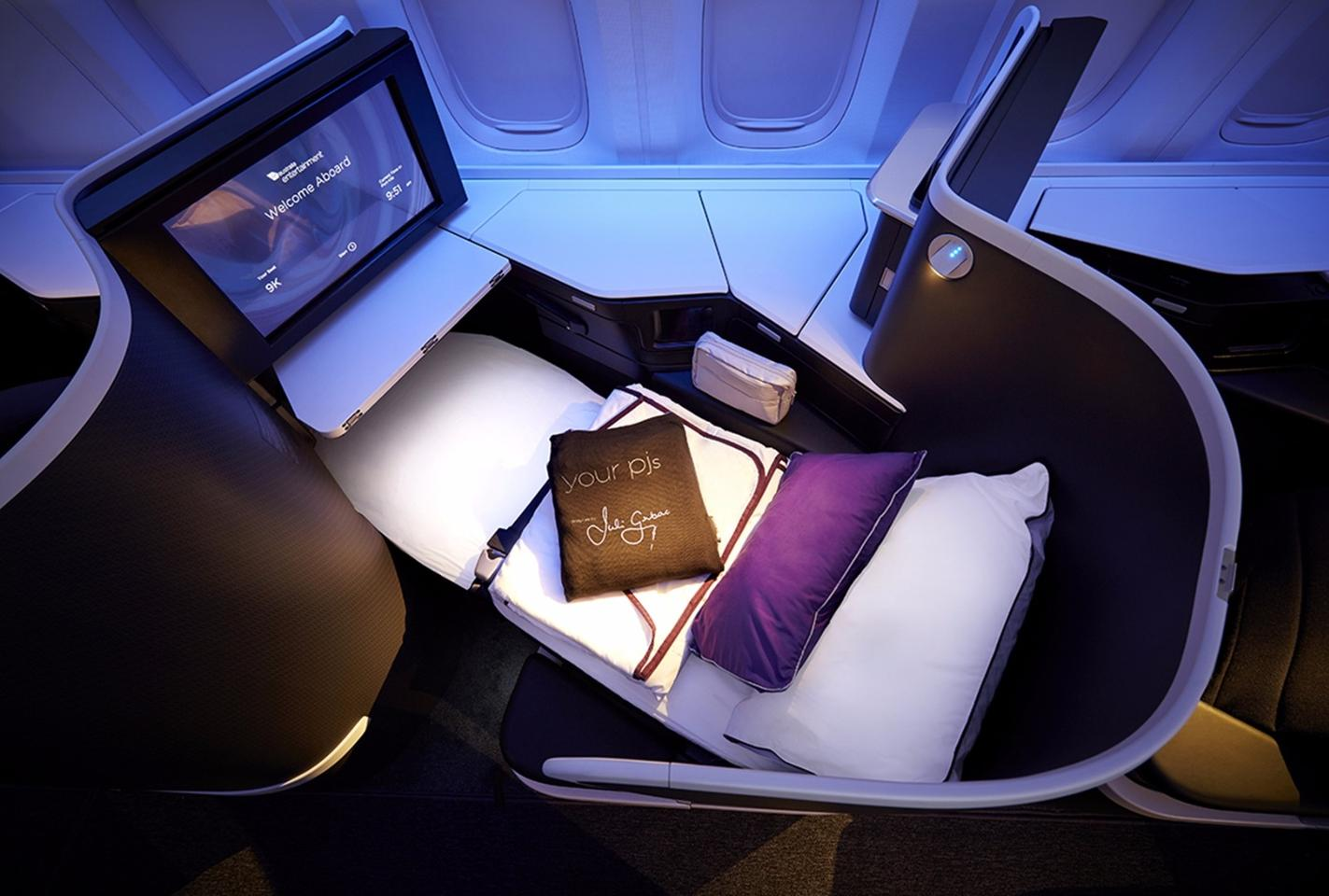 The new cabin layout is being installed on Virgin Australia's fleet of Boeing 777-300ER aircraft