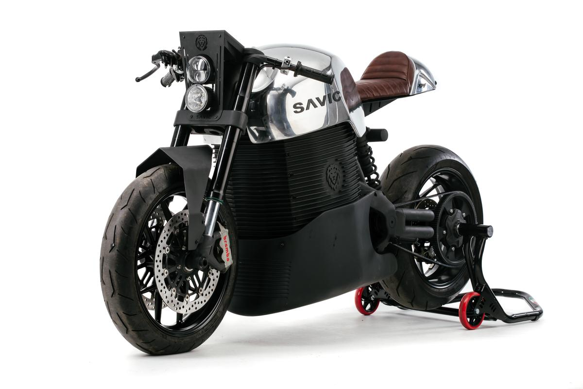Savic Motorcycles has revealed its generation 2 production prototype