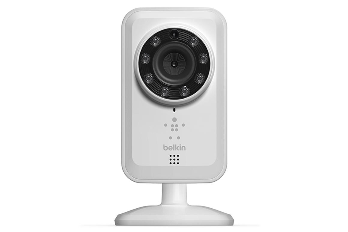 Belkin's new NetCam security camera comes with night vision and lets you monitor your home from anywhere using a smartphone or tablet