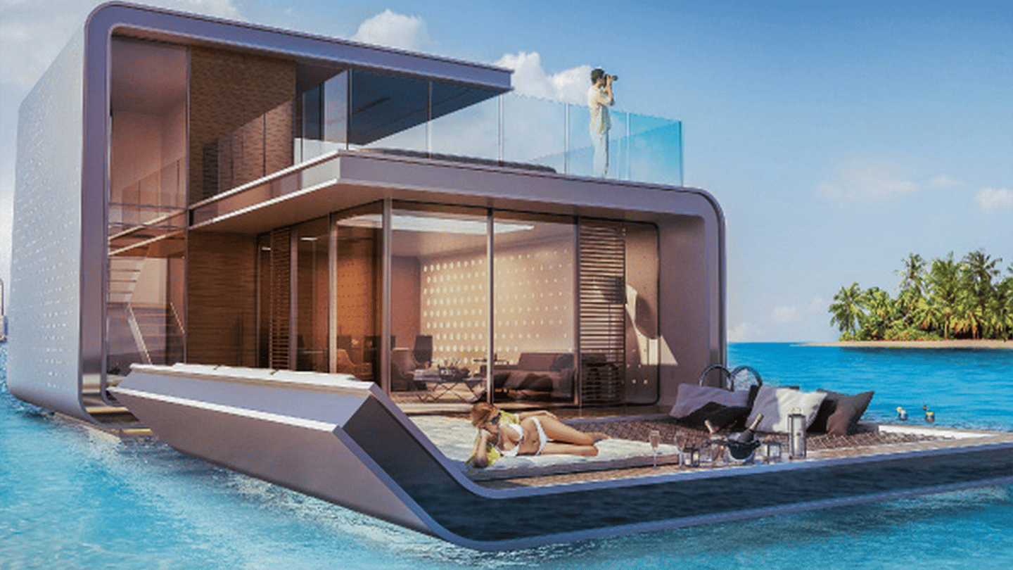Work will start on the luxury floating homes in the second half of 2015, with the first villas scheduled for completion some time in 2016