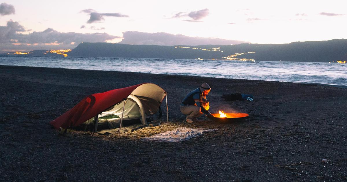 Crua Modus system rolls a tent, hammock, shelter and bedding into one