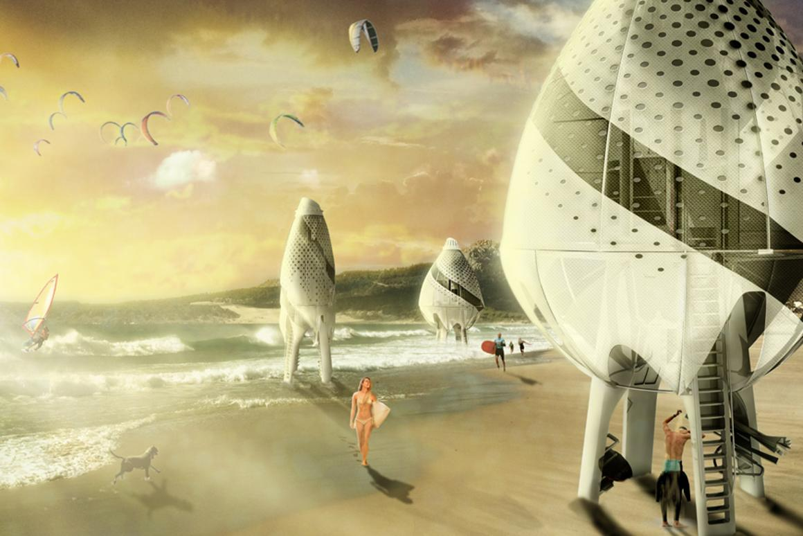 Surftopia by Eduardo Camarena Estébanez and María Urigoitia Villanueva received Special Recognition in this year's Laka Competition