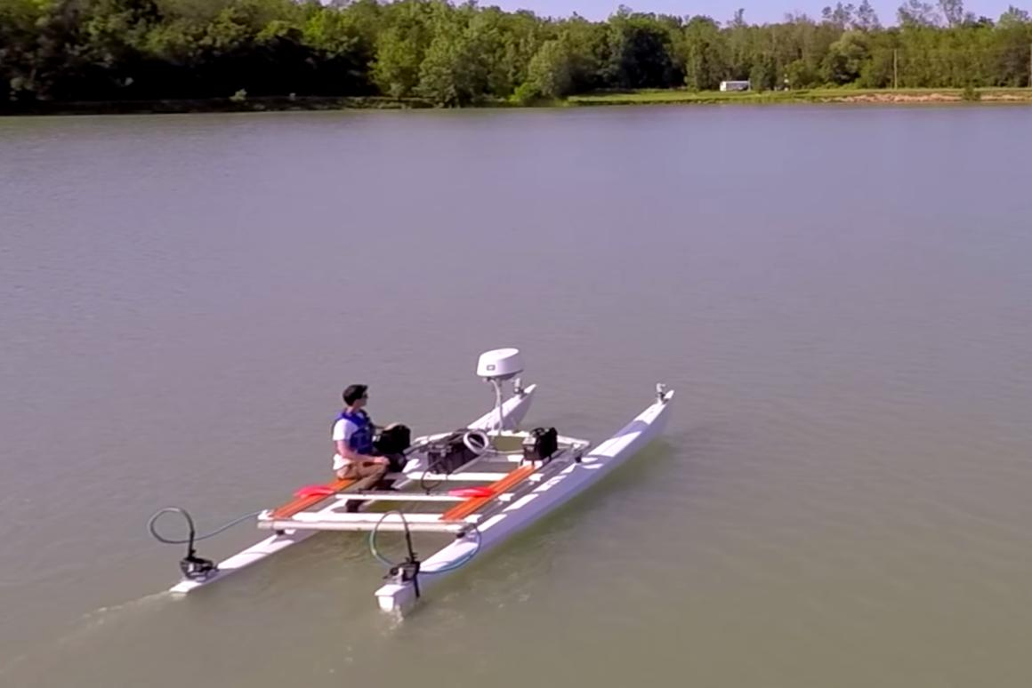 A startup spun out of the University at Buffalo is developing a preemptive autopilot system that could lead to autonomous boats