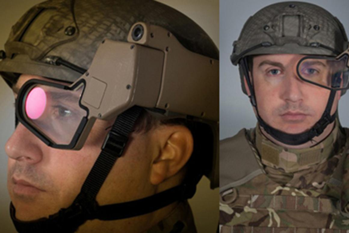 The Q-Warrior is designed provide foot soldiers with comprehensive situational awareness