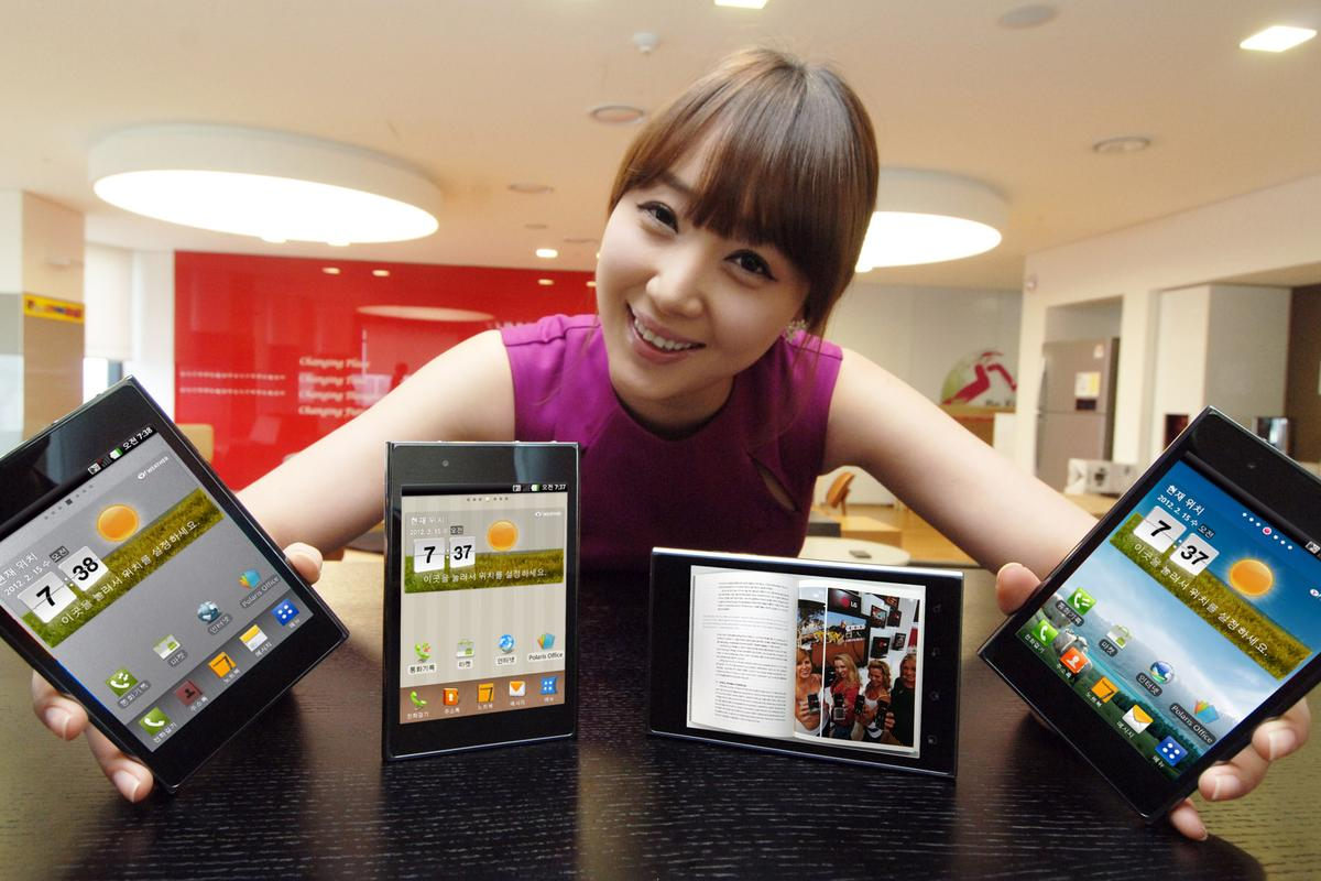 LG has unveiled its new 5-inch Optimus Vu smartphone/tablet ahead of Mobile World Congress 2012 in Spain later this month