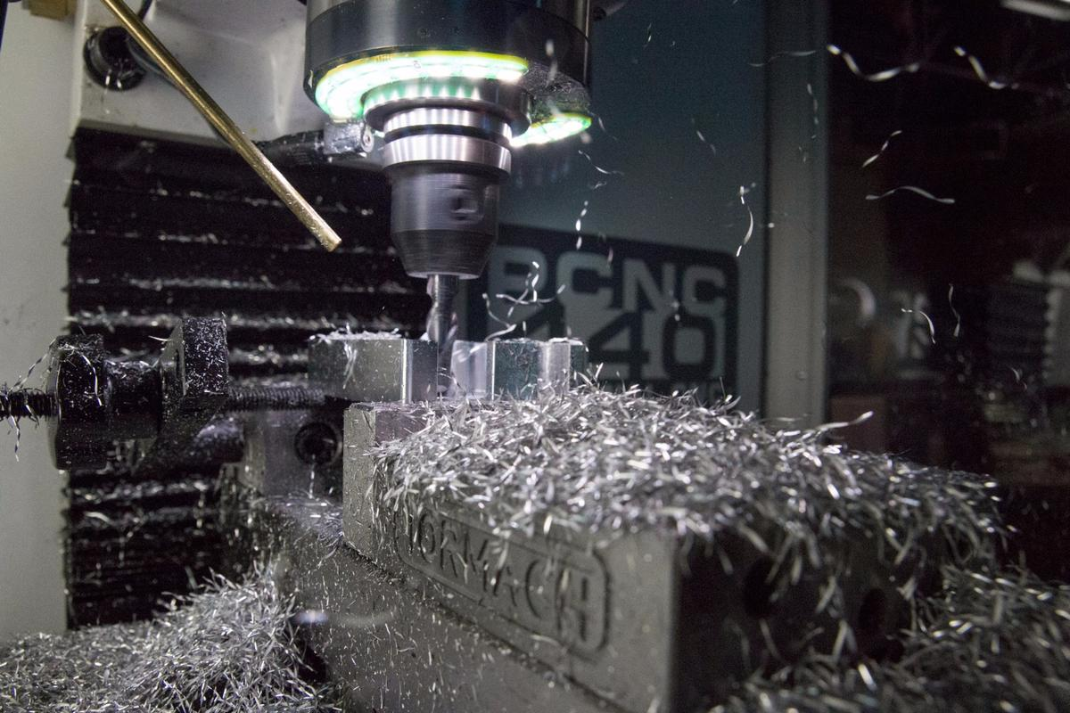 Tormach's PCNC 440 mill can cut everything from woods and plastics to aluminum and steel