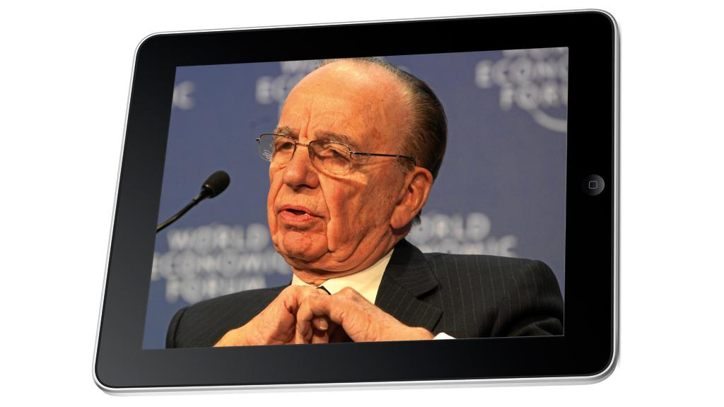 Rupert Murdoch's News Corp. is reportedly teaming up with Apple to develop a tablet-only publication (Murdoch Image: Monika Flueckiger via Flickr)