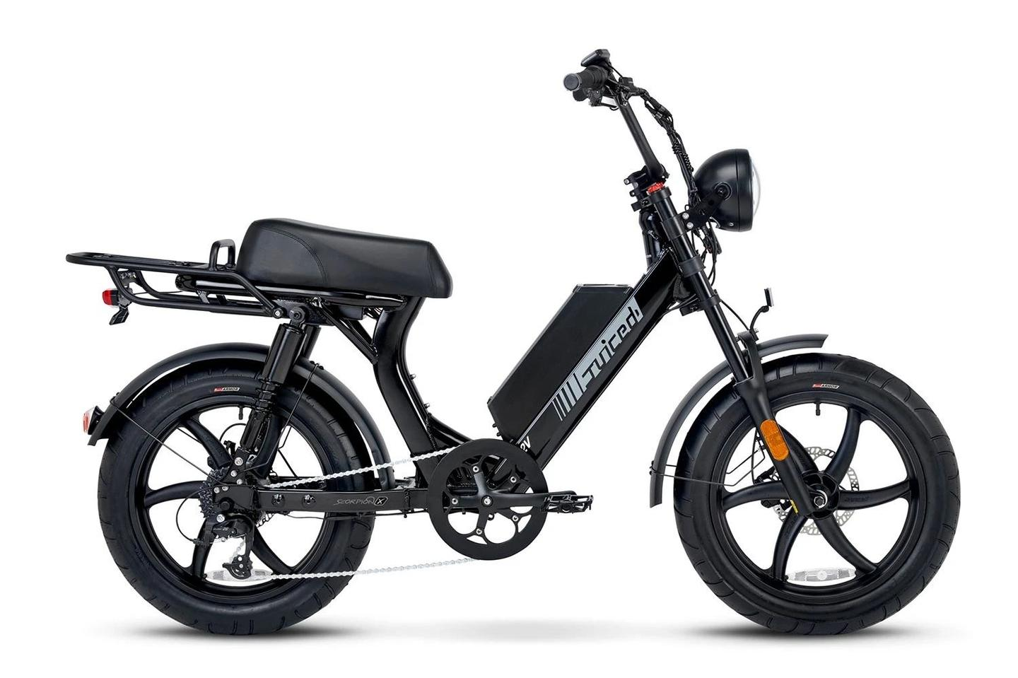 Available in black or blue, the Scorpion X has a payload limit of 275 lb