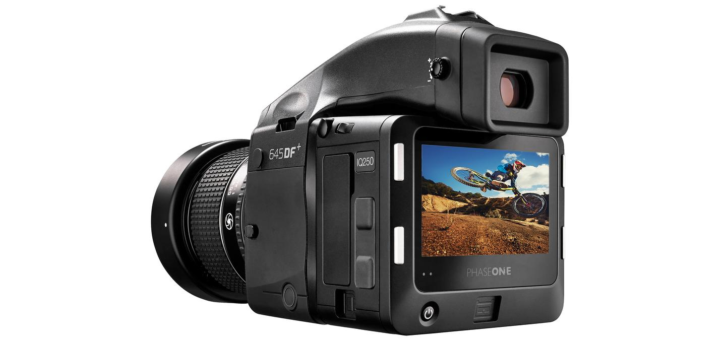 The Phase One IQ250 is the world's first medium format camera back with a CMOS sensor