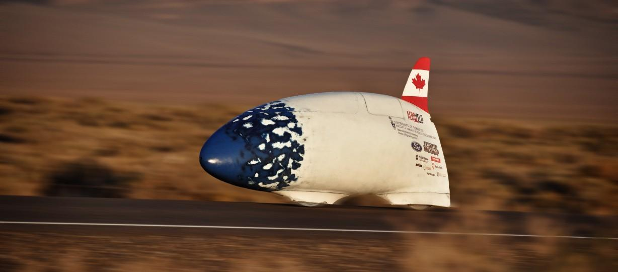 AeroVelo's previous fast bike, the Bluenose (pictured), reached 78 mph (125 km/h) (Photo: AeroVelo)