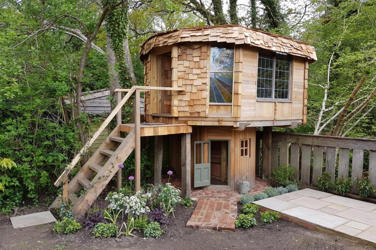 Top spot in this year's Shed of the Year Competition went toBen Swanborough for his Mushroom House