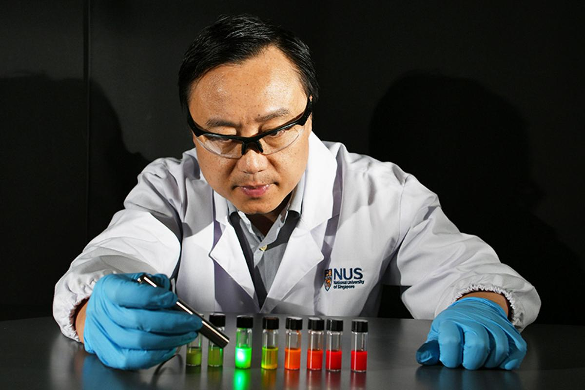 A team led by Prof Liu Xiaogang has developed nanocrystals that are highly sensitive to X-ray irradiation, enabling X-ray imaging to be performed at lower doses of radiation