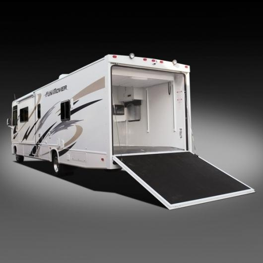 Cyclone Toy Hauler Fifth Wheel by Heartland