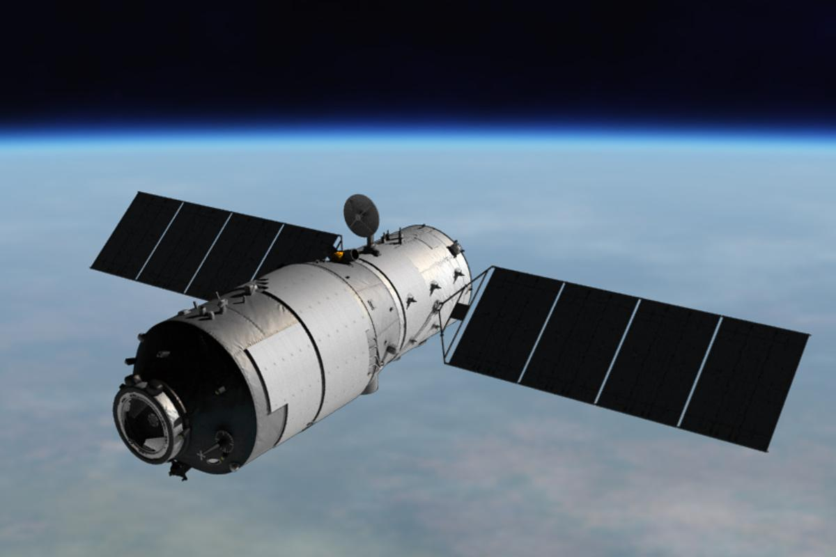 Artist's concept of Tiangong-1