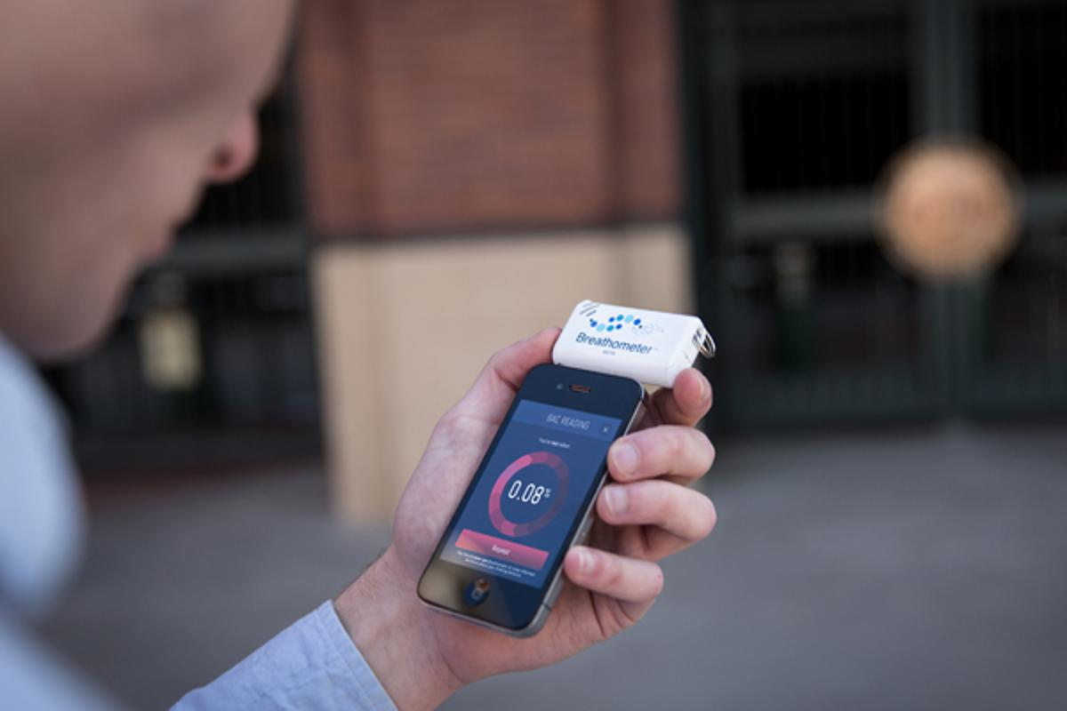 The Breathometer is designed to tackle the huge problem of drinking and driving