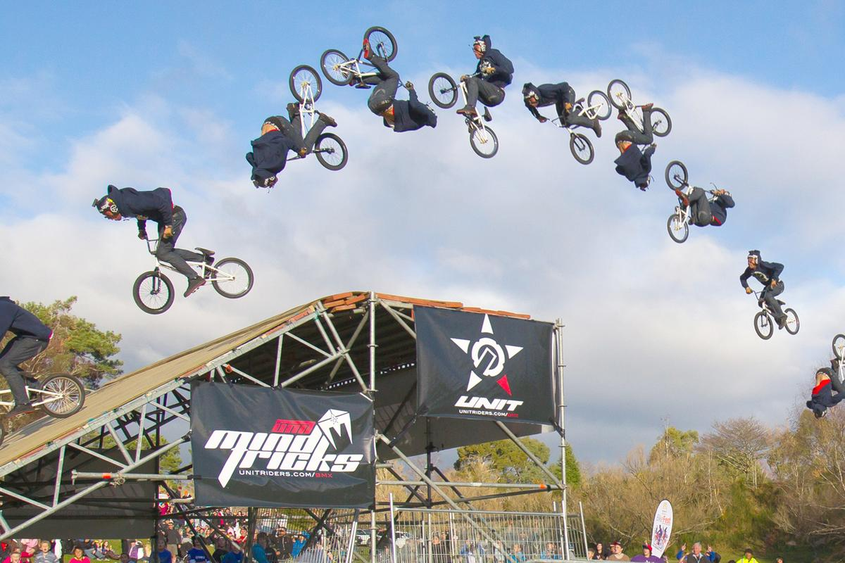 Jed Mildon's history making triple backflip (Photo sequence: Shayne Rice via Unitriders)