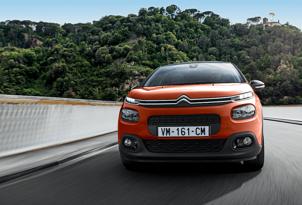 The Citroen C3's styling draws on hints from the C4 Cactus