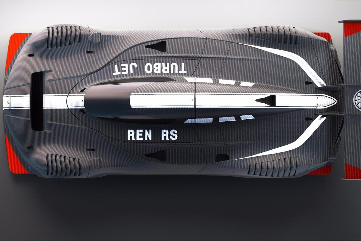 Techrules flashes a look at its single-seat Ren RStrack car