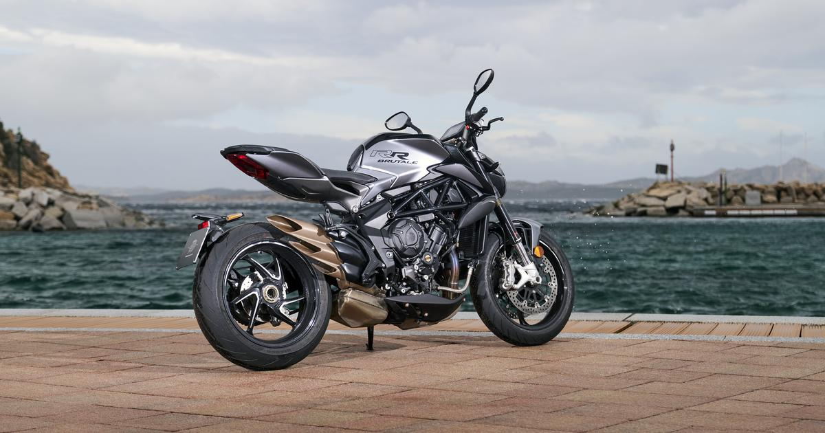 MV Agusta upgrades 800-cc Brutale and Dragster clan