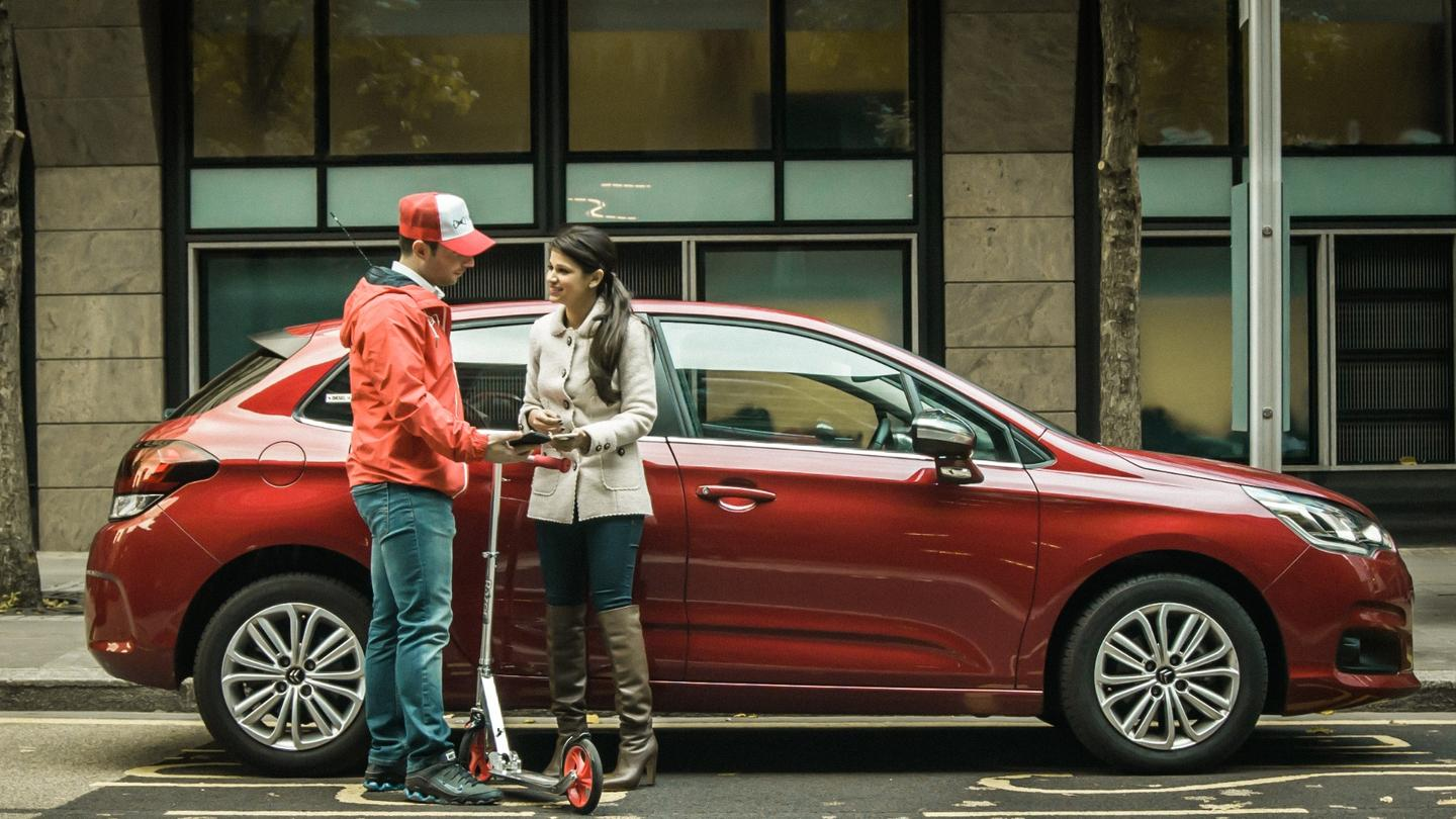 A Vallie driver will meet the customer and collect their car, taking it to a pre-approved secure car-park
