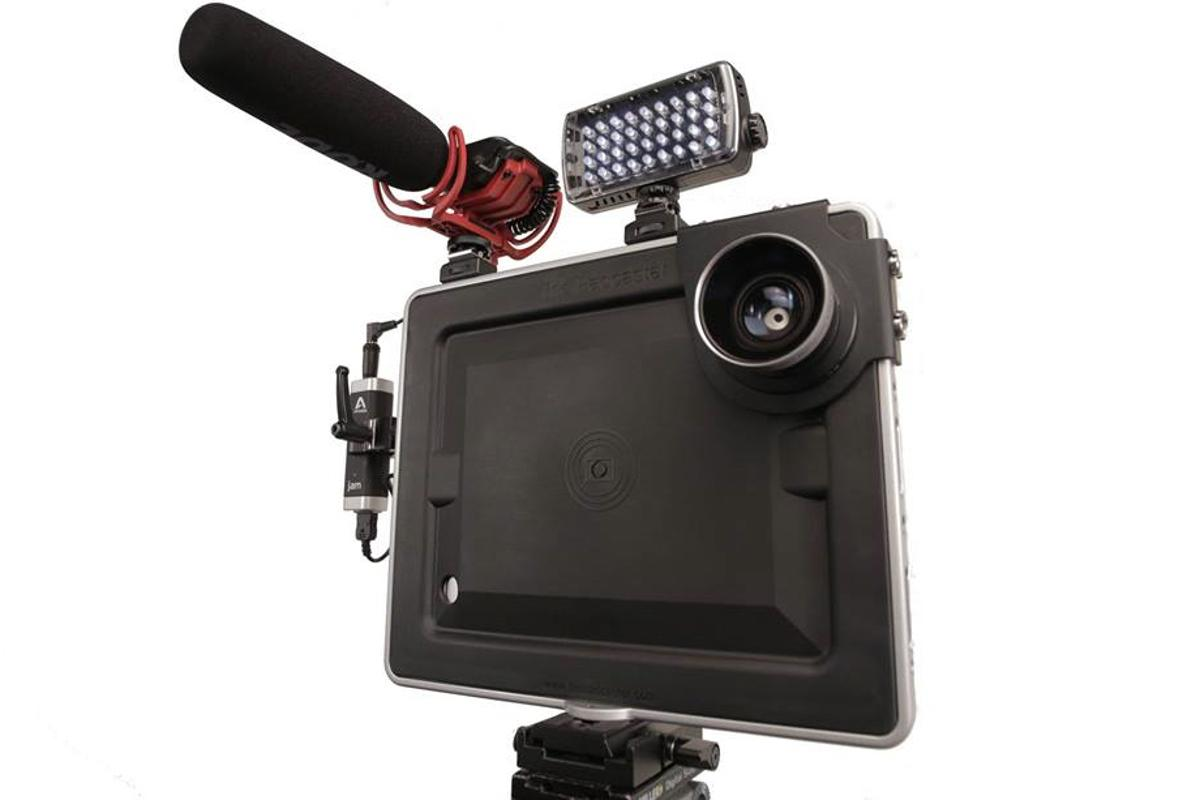 The original Padcaster (pictured) could soon be getting a baby brother