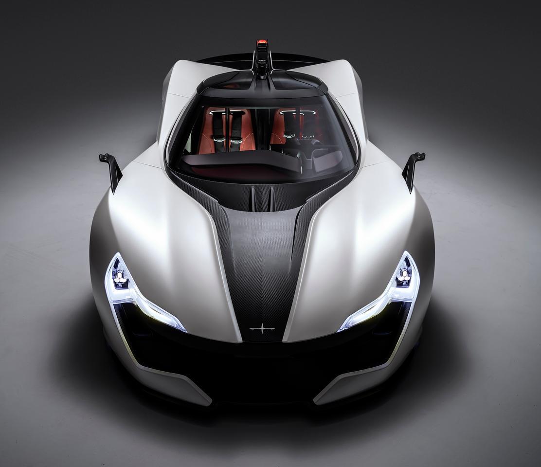 Apex's AP-0 concept EV is an attractive electric sports car design
