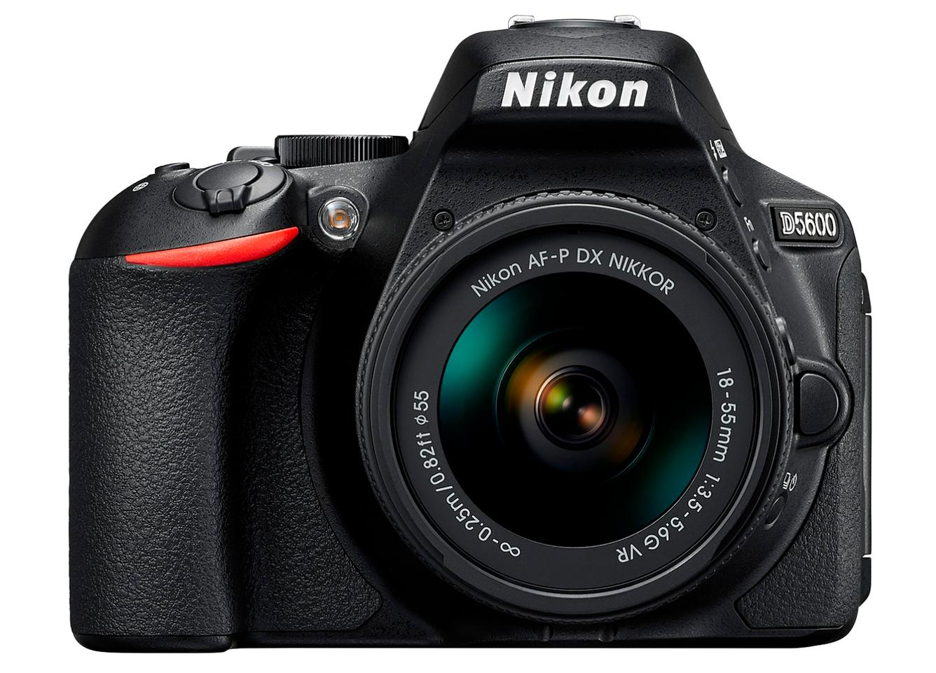 The SnapBridge connectivity of the Nikon D5600 DSLR makes it easy and quick to share photos and videos
