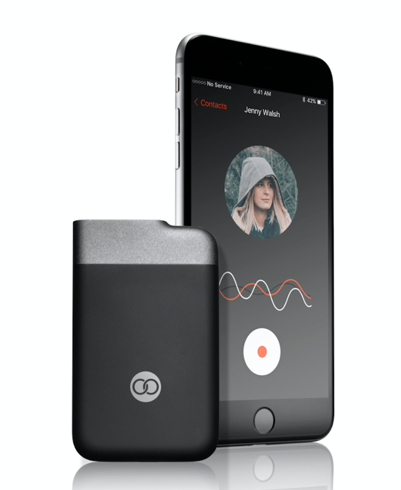 The Beartooth device allows you to talk or text with an individual or group