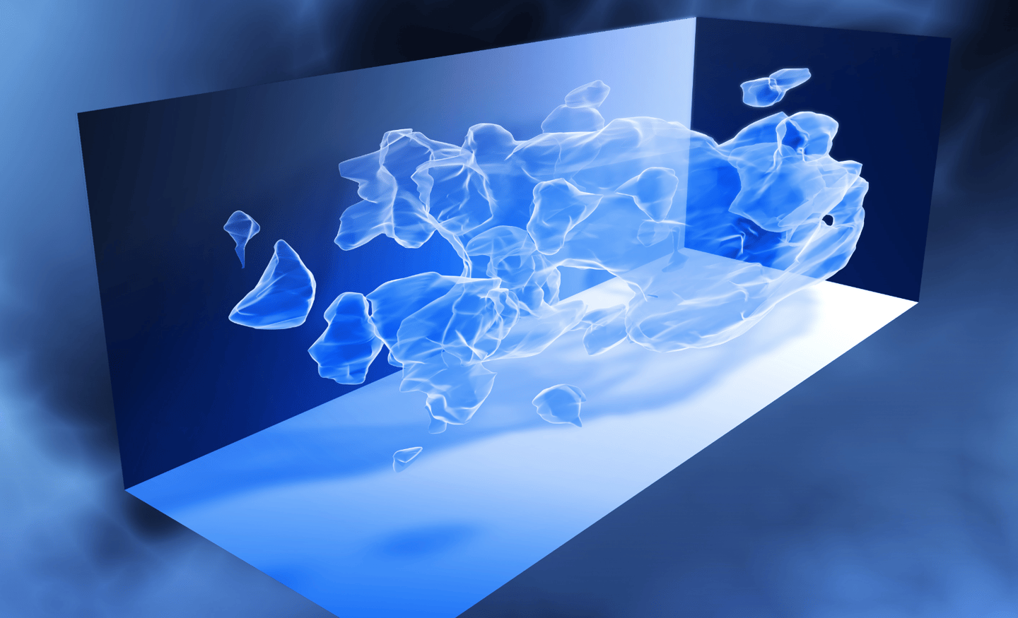According to a new model, dark matter may be composed of clusters of electrically charged particles bound by a yet-unknown strong interaction