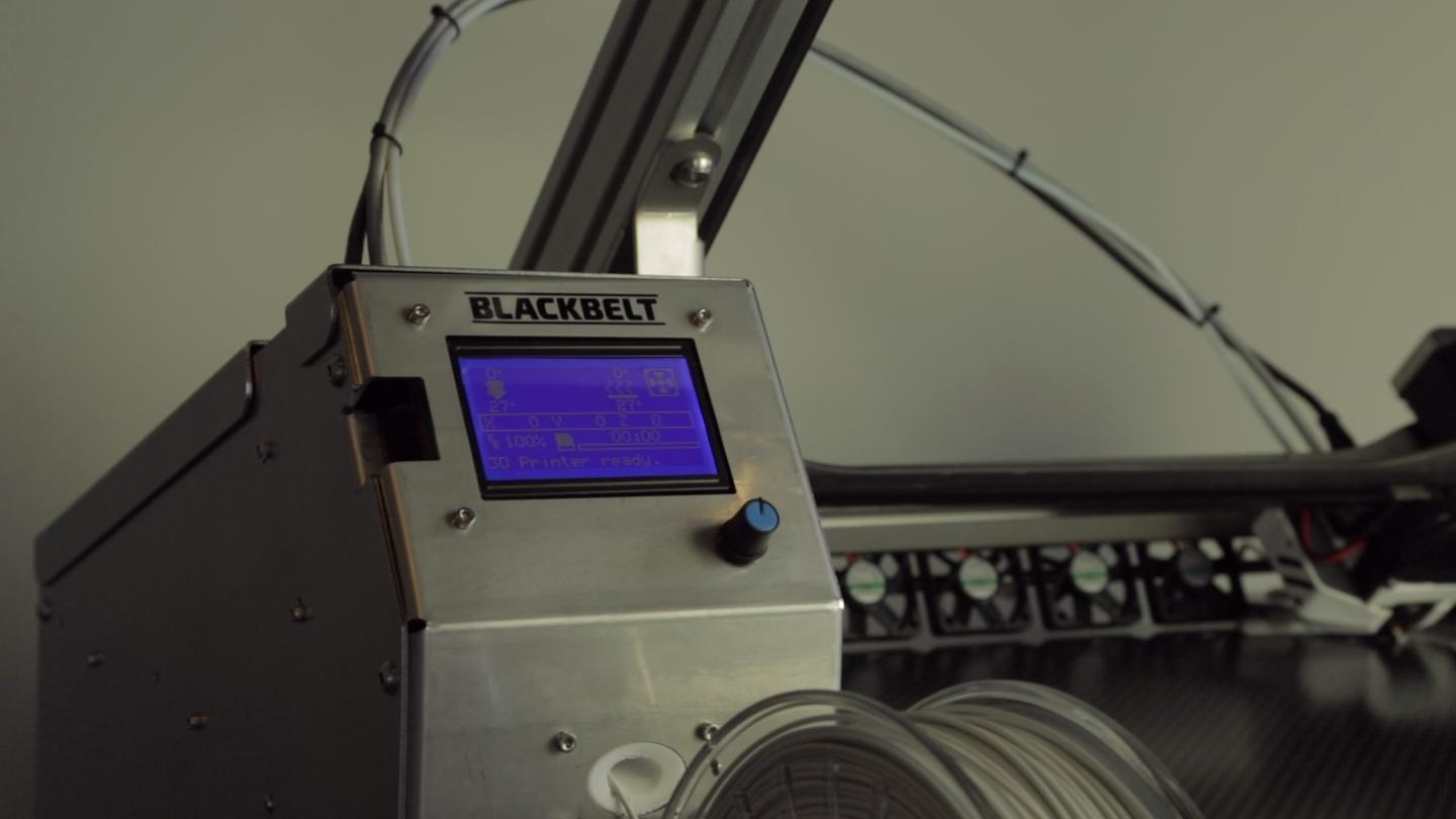 Novel 3D printer puts continuous printing on the table