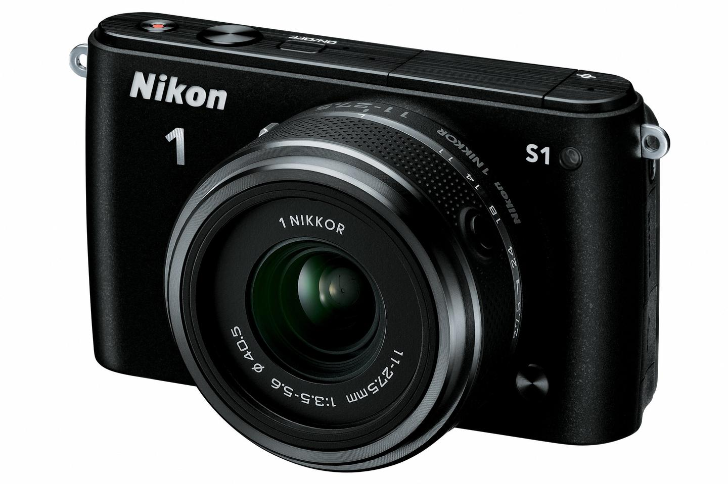 The Nikon 1 S1 sees Nikon attempting to appeal to a more entry-level demographic