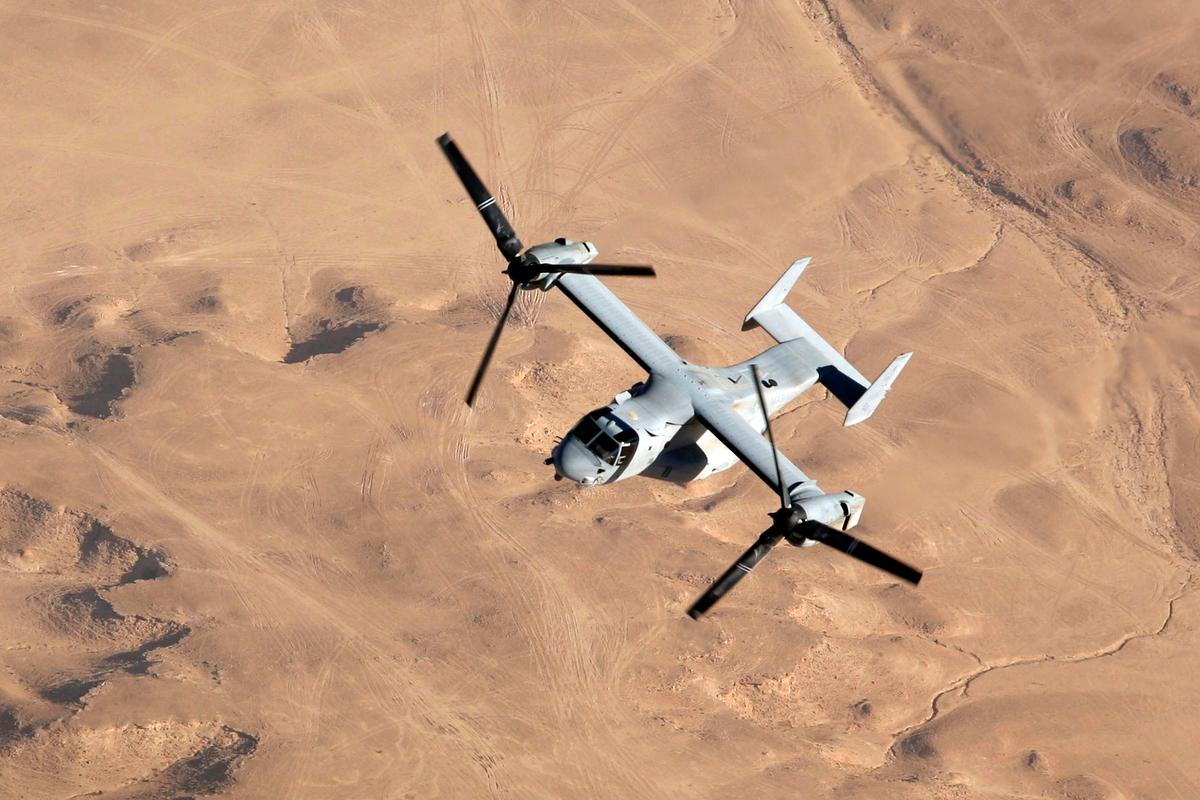 V-22 Osprey (Photo: Boeing)