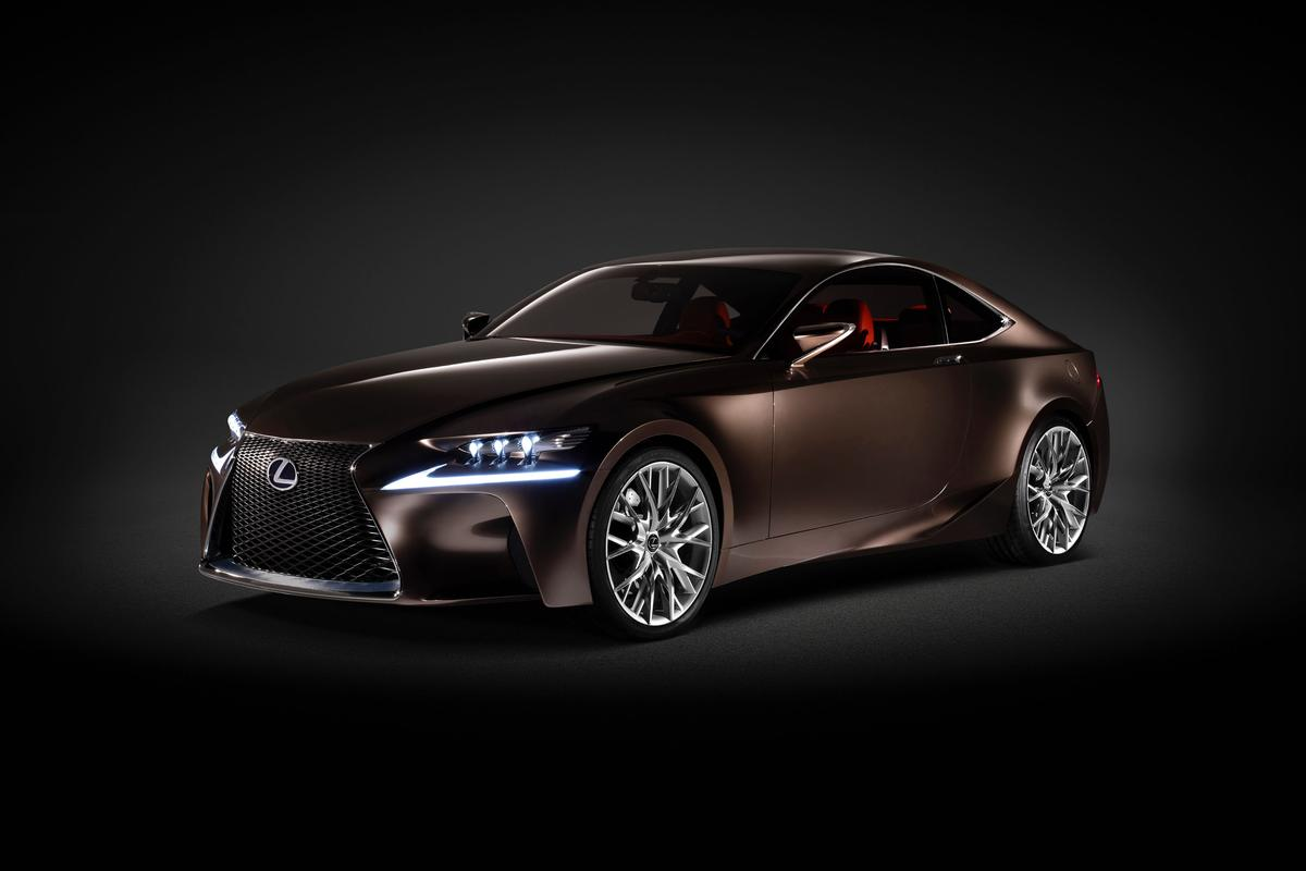 The all-new Lexus will sport influences from the LF-CC concept (pictured)
