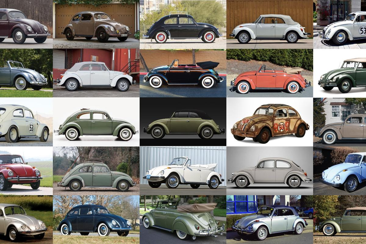 The Volkswagen Beetle is continuing to defy the laws of economics, being one of the hottest collectible car investments of recent times at the same time as being the most plentiful single model ever produced with 21.5 million cars sold. In the last three years, despite the collectible car market cooling, 36 of the 50 most valuable Beetles have been sold and there's no end in sight.