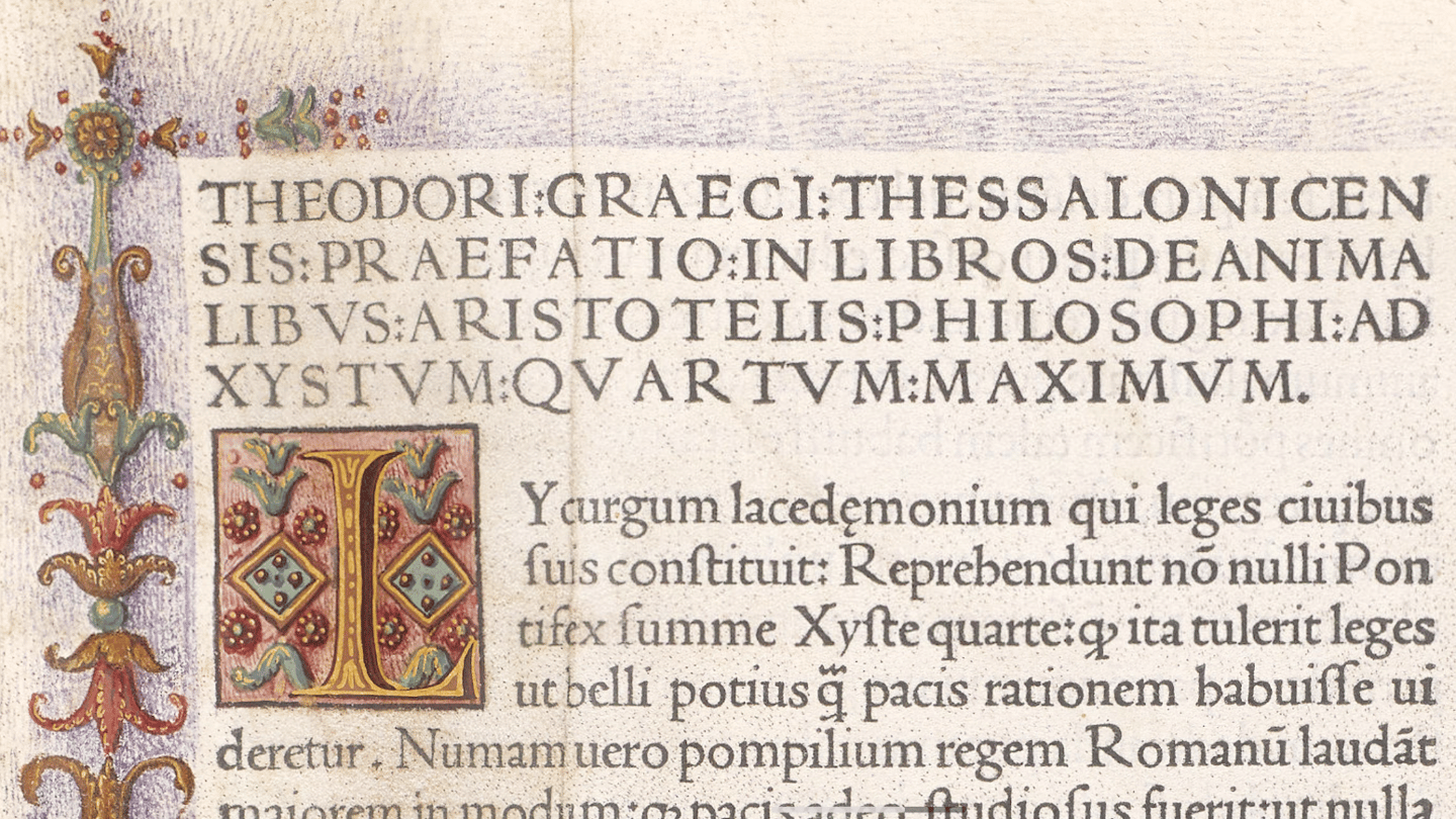 The vellumcopy ofde Animalibuswill be auctioned on 8June, 2016 by Bonhams