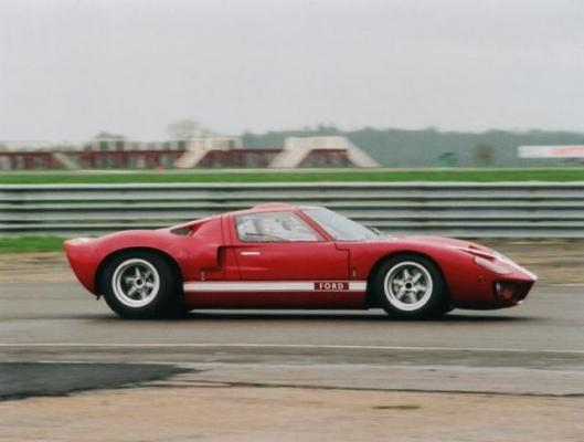 The original 1968 Ford GT40 gets a work-out a third of a century after it was built. It carries an estimate of £280,000-320,000.